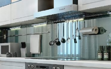 חיפוי זכוכית למטבח, חיפוי למטבח
